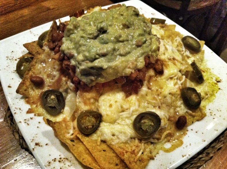 Los mejores nachos con queso que he probado en Madrid