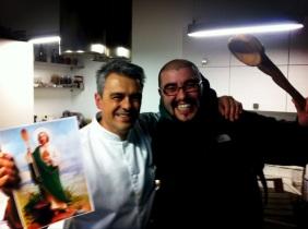 Los cocineros @Pis_to y @jmkalero