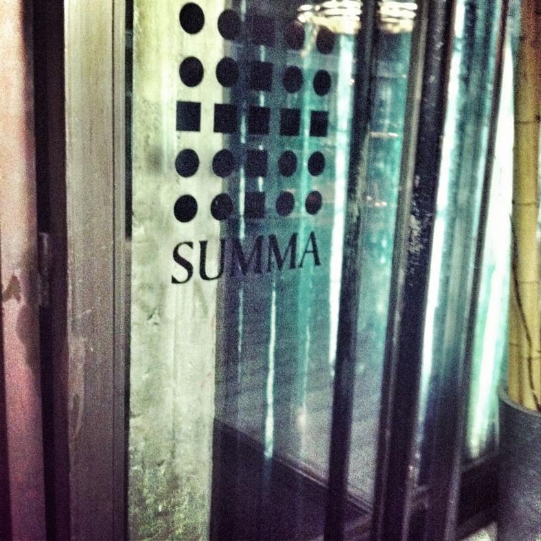 Entrada a Summa