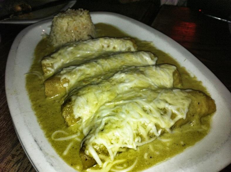 Enchiladas gratin
