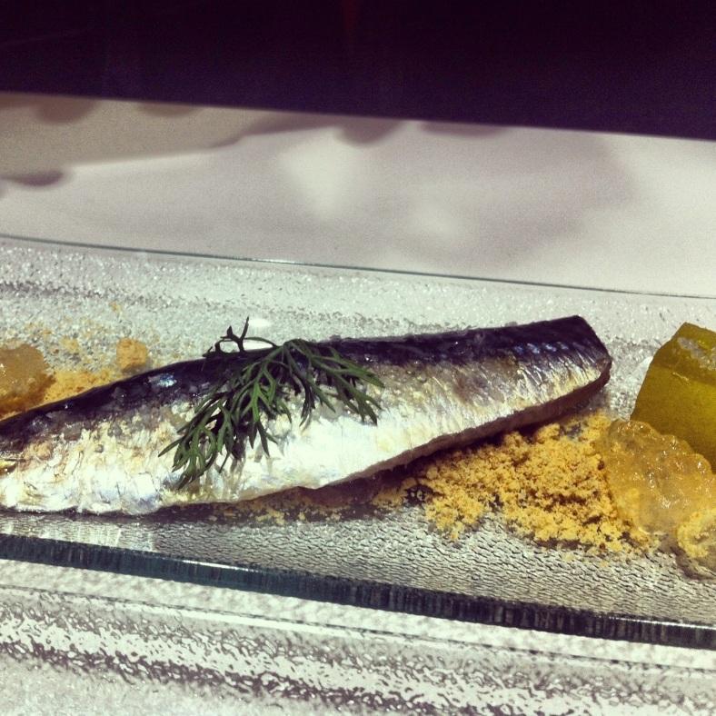 El plato ganador de la noche: Sardina