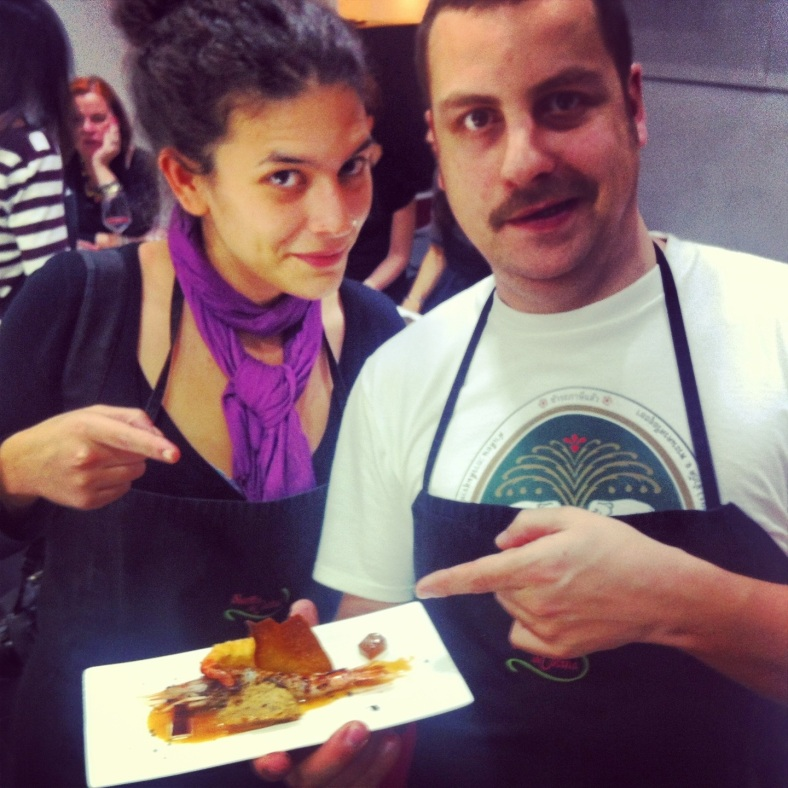 Lua y Rodrigo pensaban que su plato ganaría