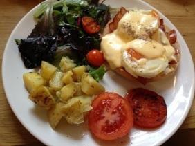 Huevos al estilo Mür Café