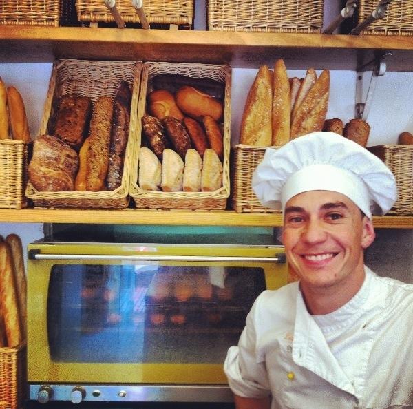 Moncho, el panadero y dueño de Levadura Madre