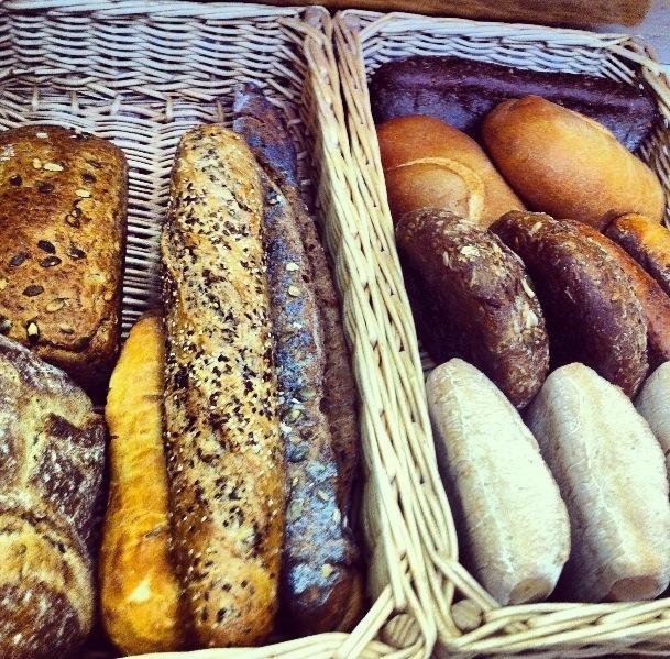Los que llaman sus panes gourmet, debido al proceso con el que están hechos