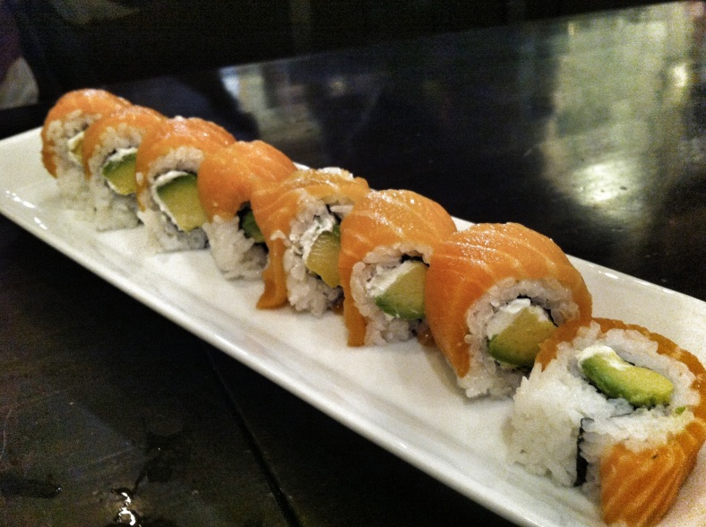 California roll invertido