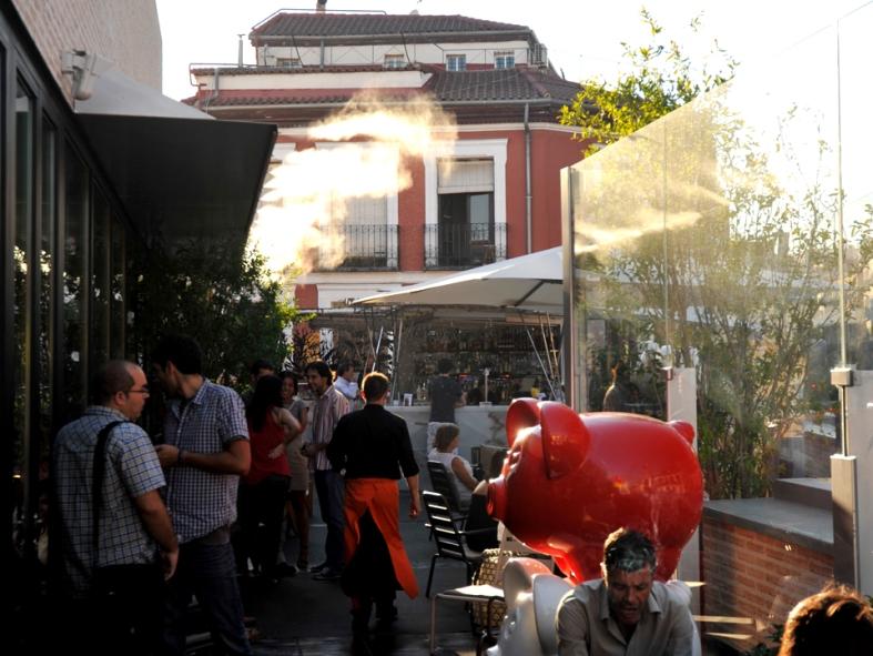 Foto tomada de la web de La cocina de San Antón: La terraza