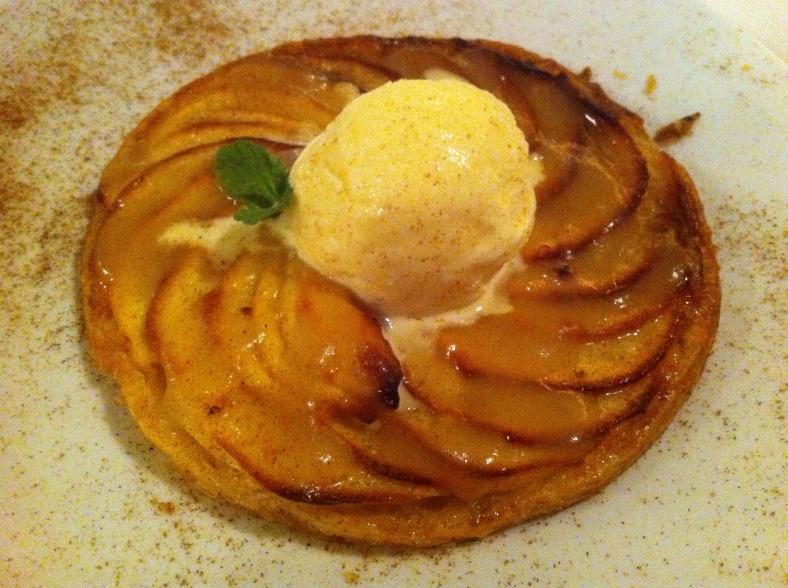 Fina tarta de manzana