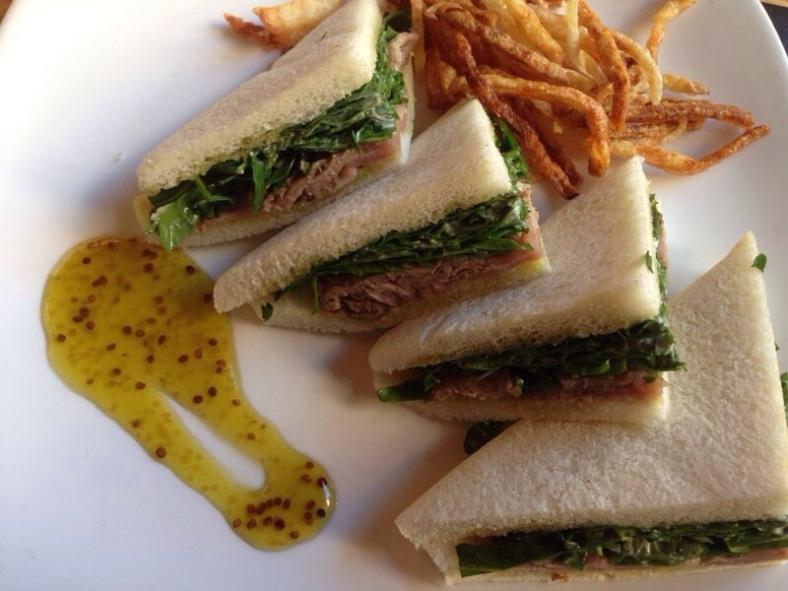 Sandwich de roast beef
