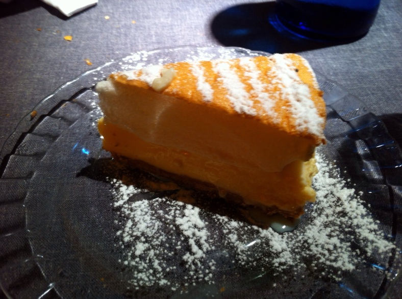 La clásica tarta de limón