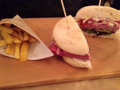 Sanwich de pastrami