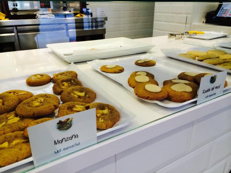 Cookies de manzana y otras de sirope de arce