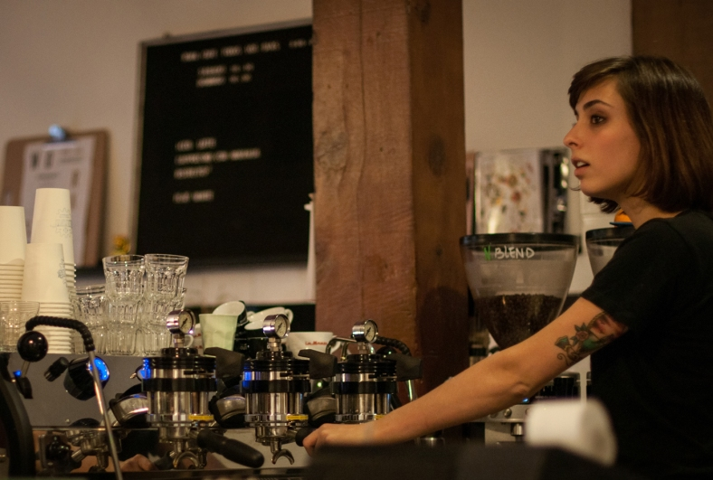 Una cafetera qué hace maravillas
