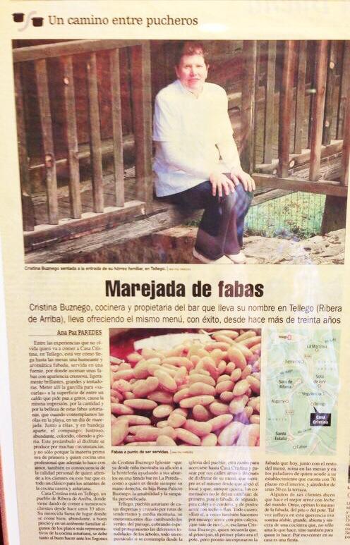 La fama de su fabada es bien conocida en toda España