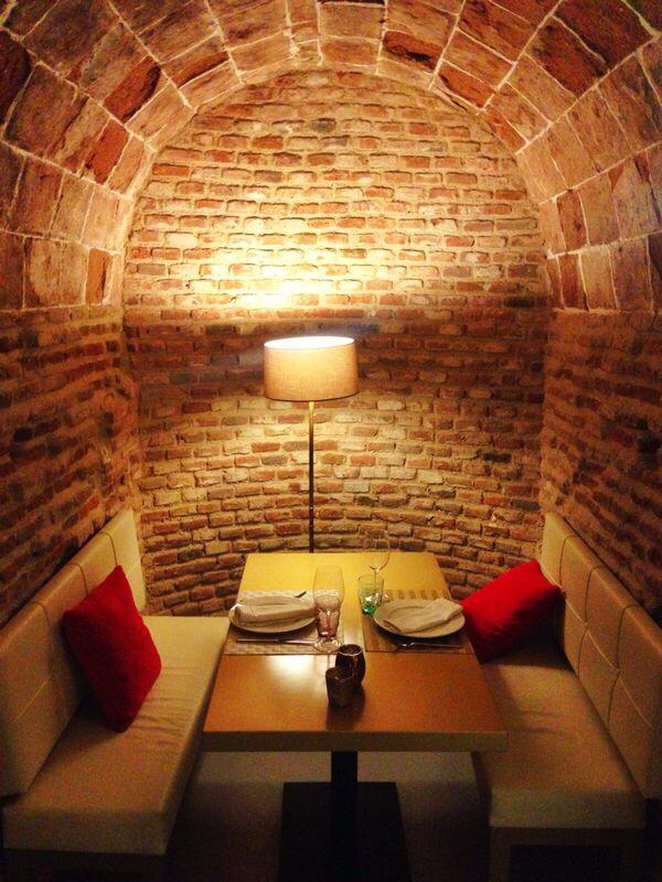 Un sitio perfecto para una cena romántica