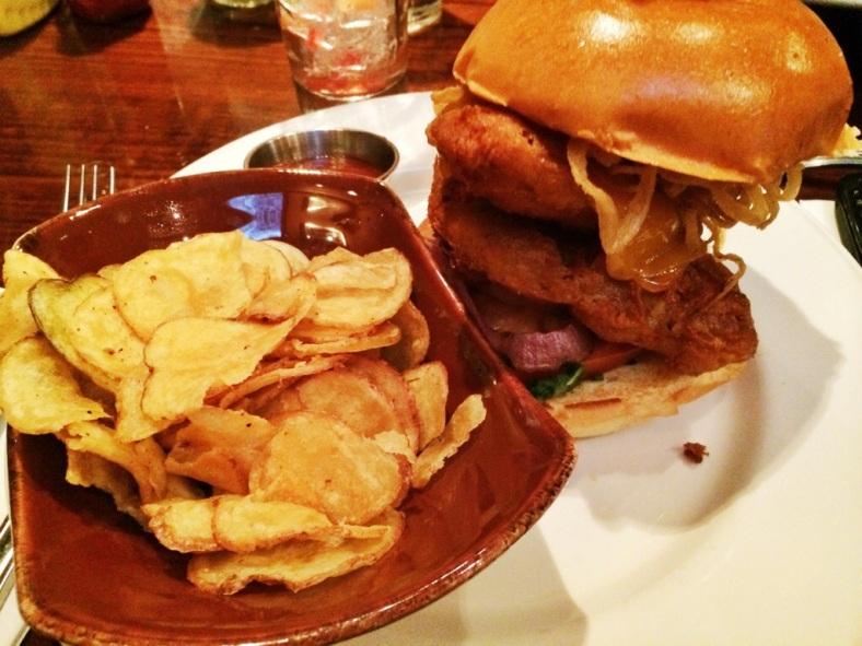 The Dubliner, burger de pescado que ha revolucionado a los clientes