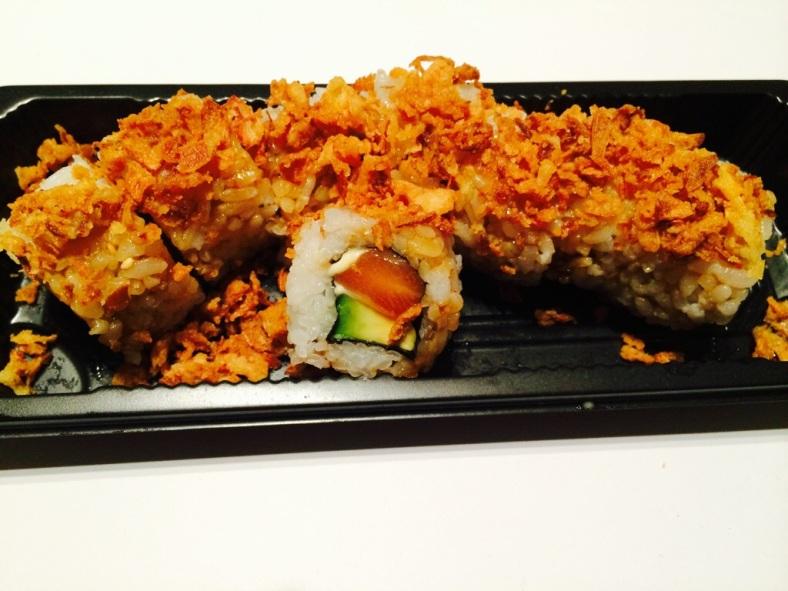 Crazy salmon roll