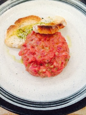 Steak tartar tradicional