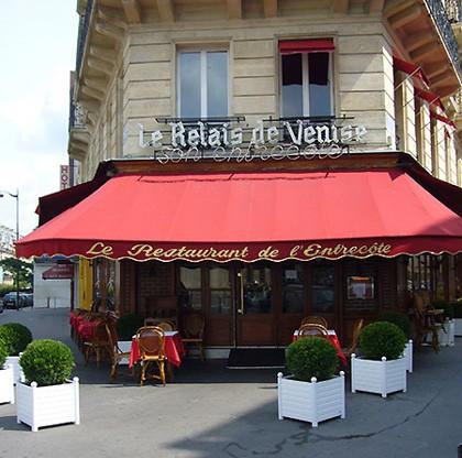 """El auténtico """"Le Relais de Venise"""" en el barrio 17 de París"""