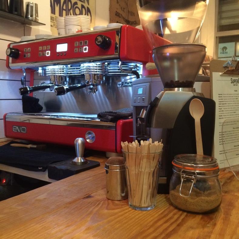 Una cafetera que hace maravillas