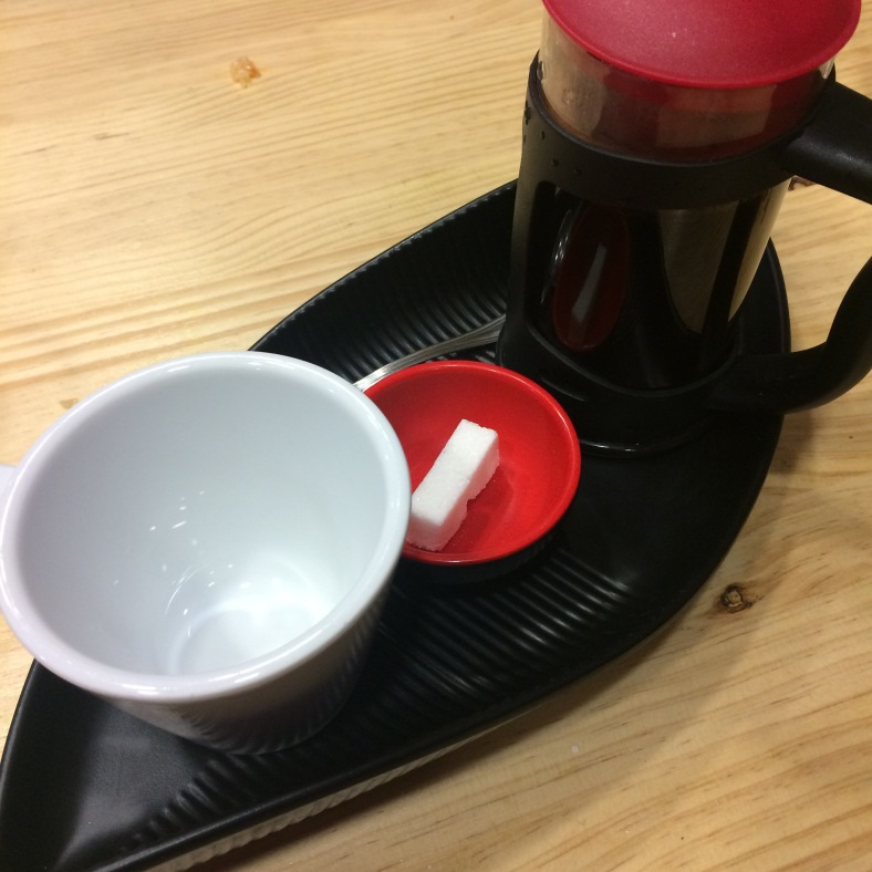Una buena dosis de café