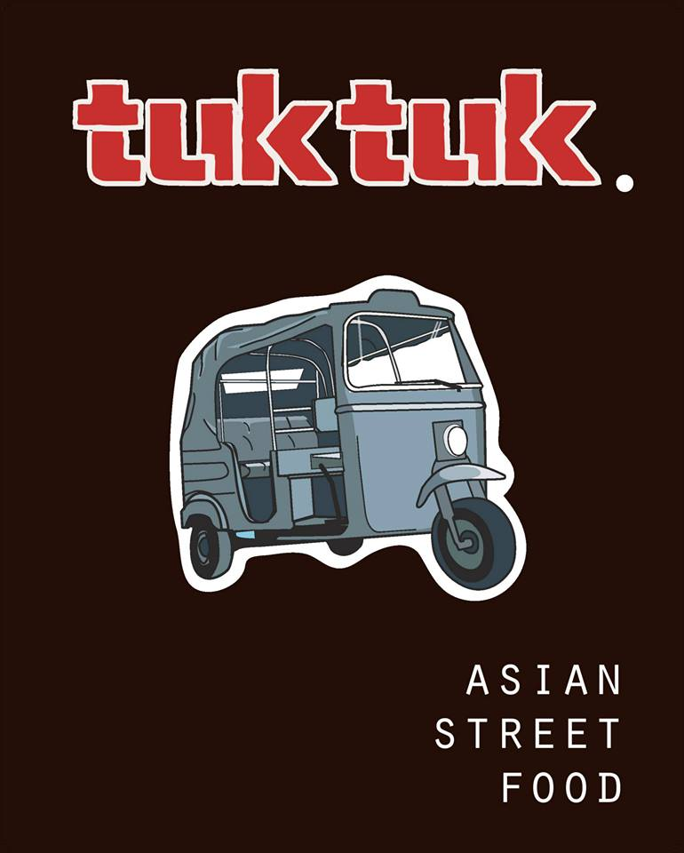 Tuk Tuk es un ejemplo de asian street food