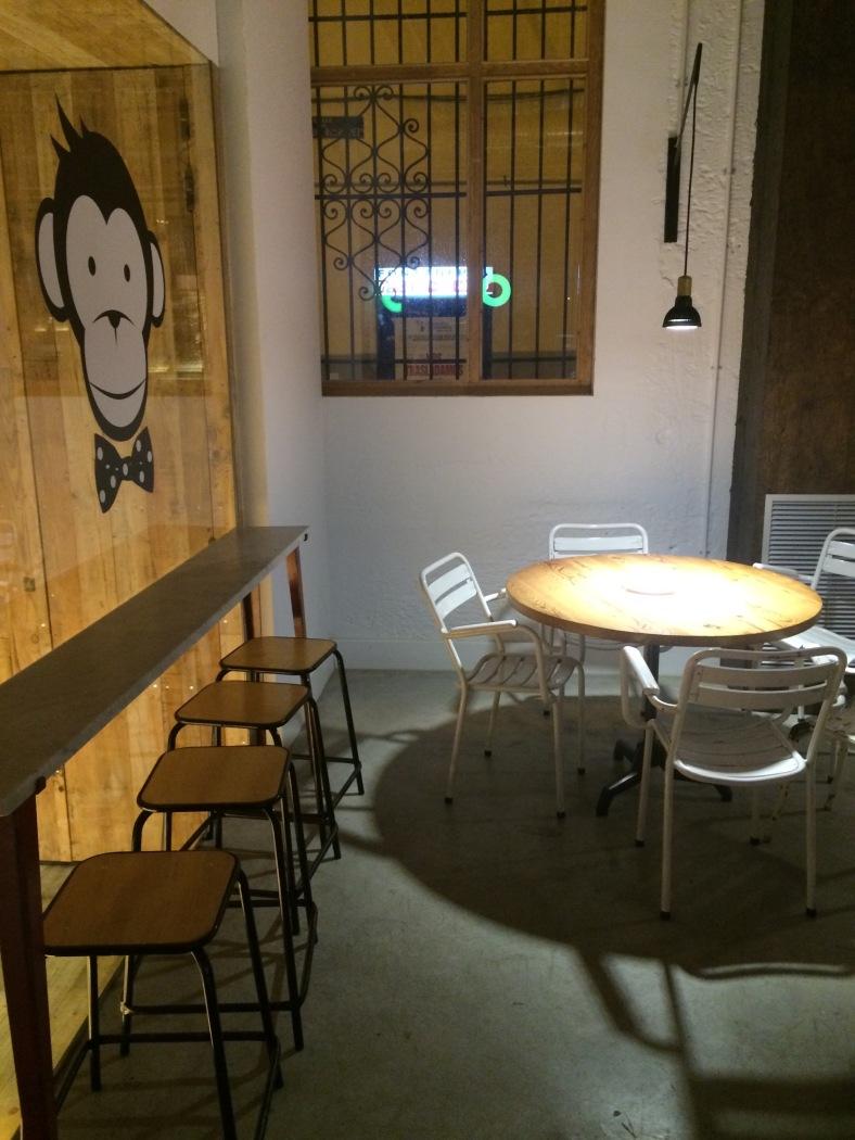 En Monkee Koffee hay muchos rincones con encanto