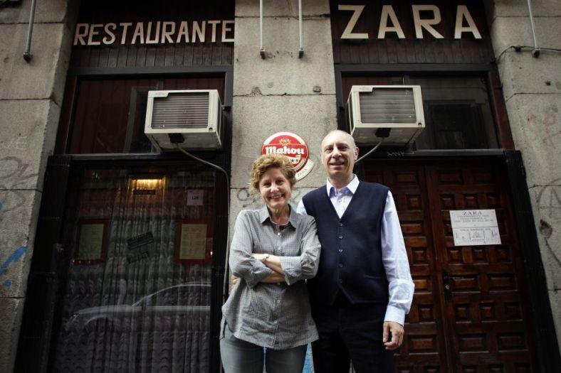 Foto tomada de El País: Inés y Jorge, los dueños del restaurante cubano Zara