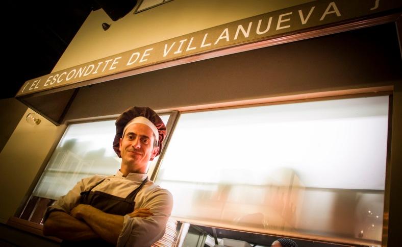 Foto tomada de La Gastronoma: Pepe Roch, el asesor de la nueva carta de El Escondite de Villanueva