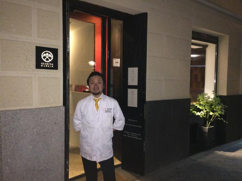 Masahito Okazoe, dueño de Izariya