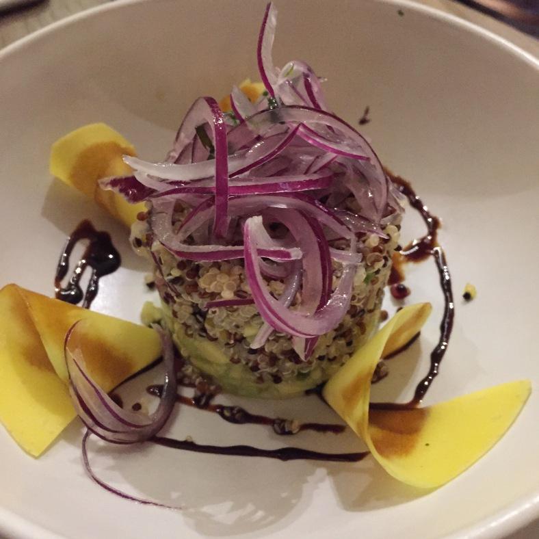 Ensalada de quinoa cevichada