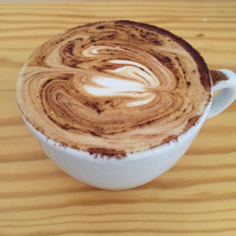 Cappuccino sin azúcar por favor