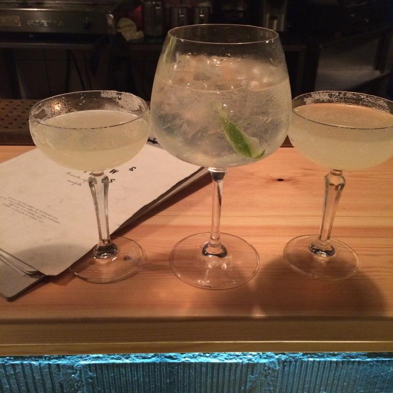 Gin tonic y margaritas