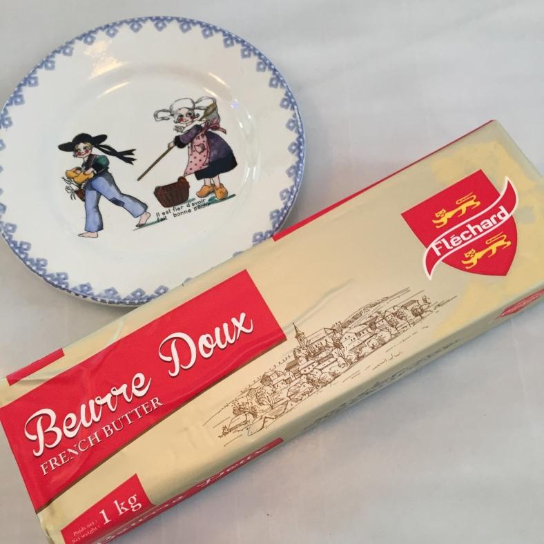 Mantequilla francesa de la buena