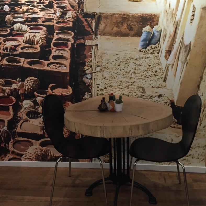 Mesas de madera hechas a medida