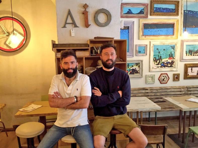Andrea y Marcello los dueños de Aiò