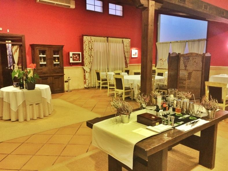 La sala de un estrella Michelin, donde sirven menú del día