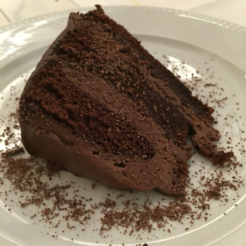 Pastel de chocolate puro Ariba
