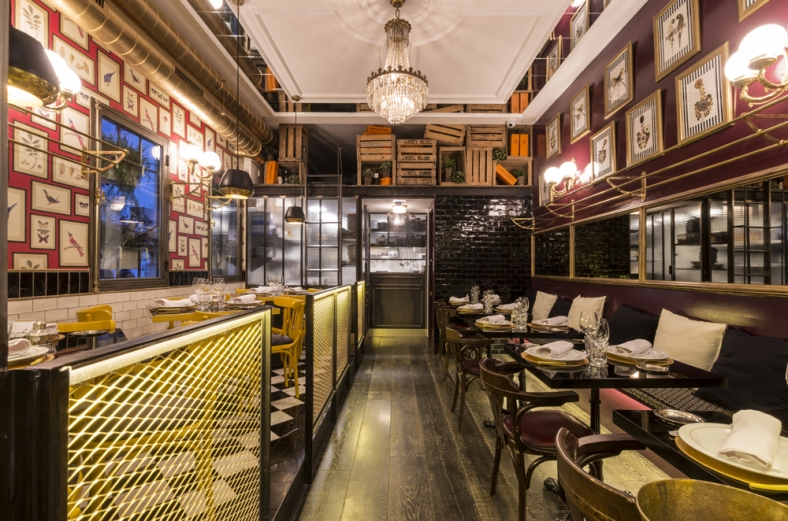 En este coqueto restaurante encontraréis un ambiente refinado