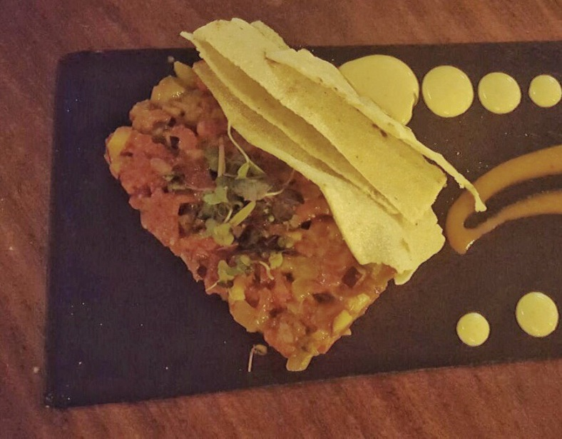 "Steak tartar de solomillo ""al momento"""