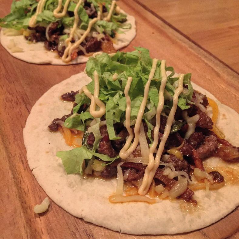 Tacos koreanos