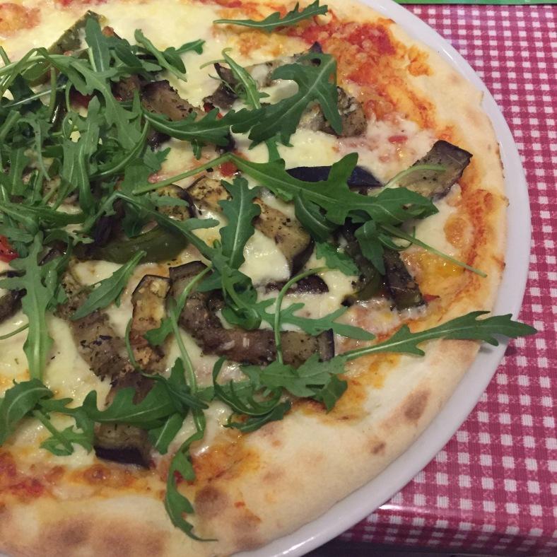 Pizza del menú del día