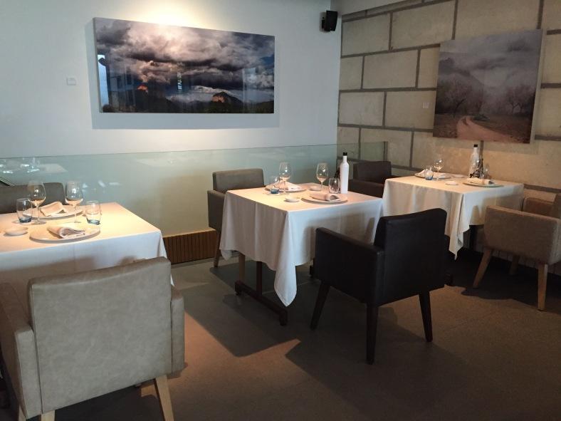 Una sala pequeña pero perfecta para dar un servicio personalizado a todos los clientes.
