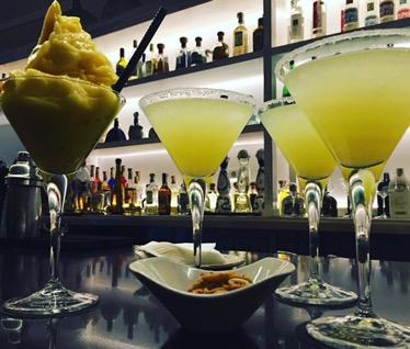 Margaritas clásicas y frozen margarita de mango