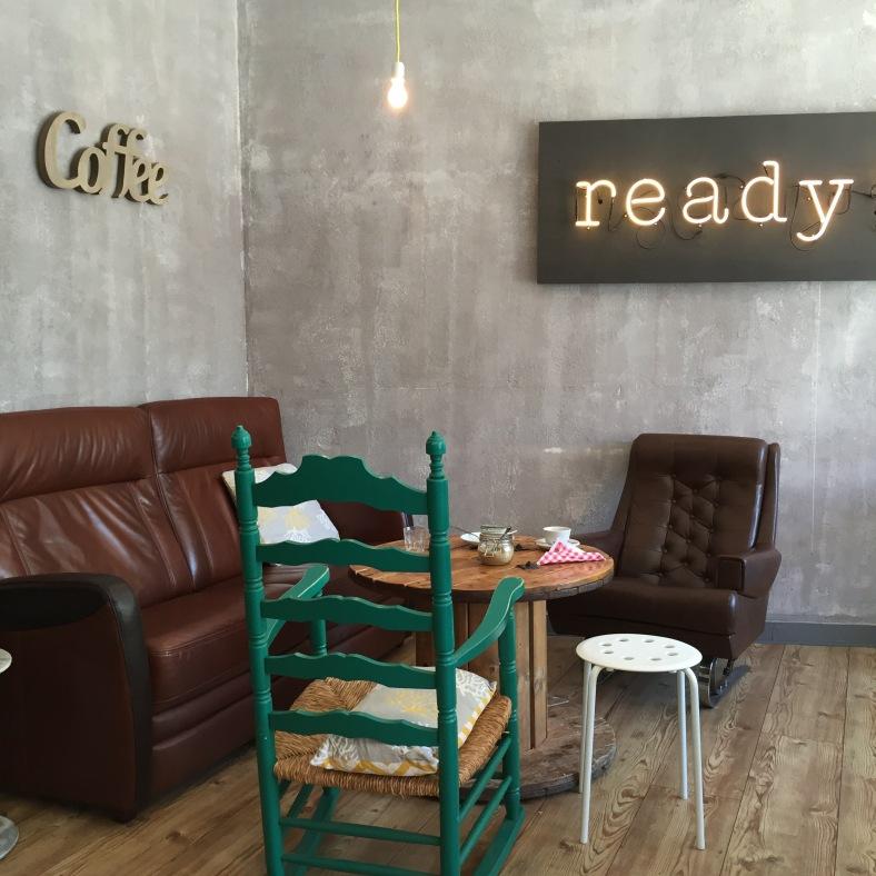Uno de mis sitios favoritos en Luxemburgo para tomar un café