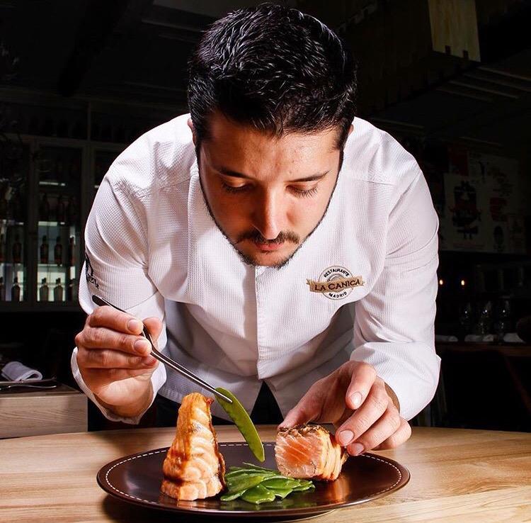 El chef Sergio en acción