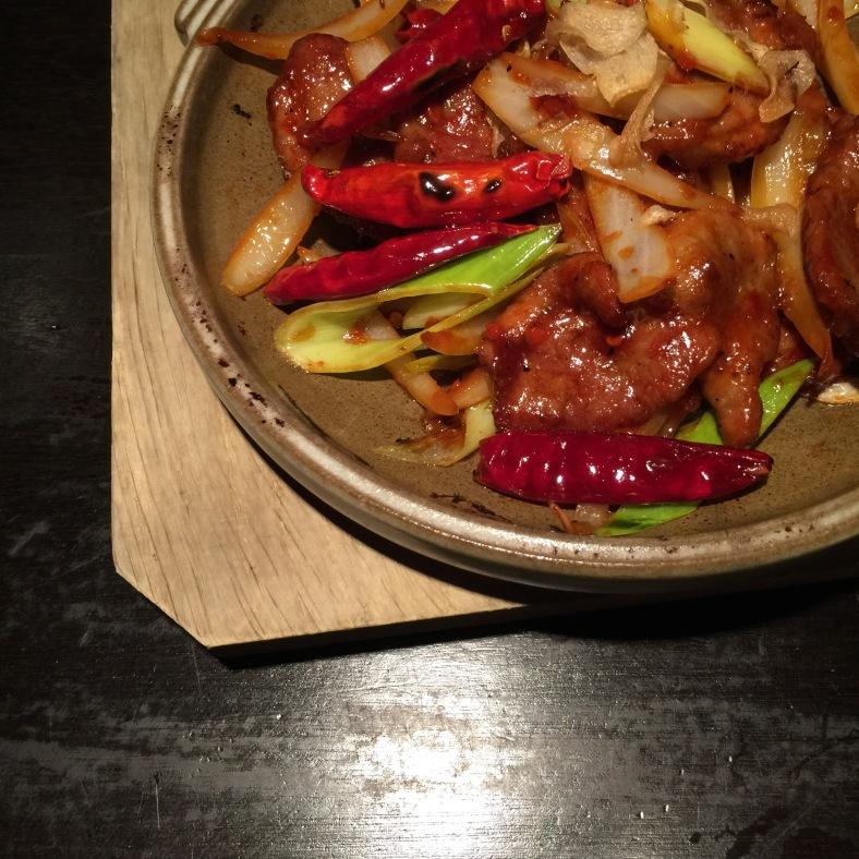 Pato con verduras