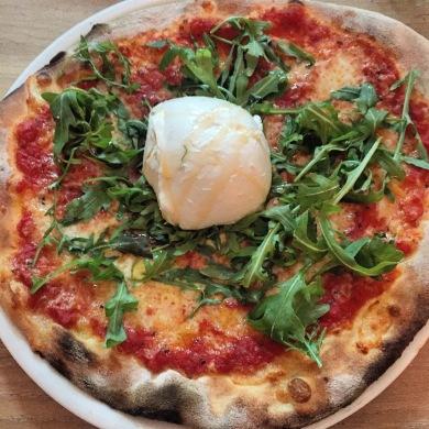Pizza Bufala e Rucula